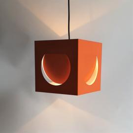 hanglamp hanging lamp kubus space age shogo suzuki stockmann-orno 1963
