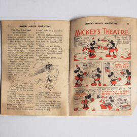 mickey mouse rat face rieck's mickey mouse magazine 1935