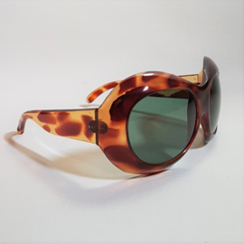 zonnebril sunglasses oversized 1970s