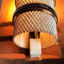 wandlamp wall lamp koper 1960s