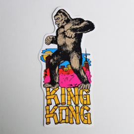 king kong sticker 1970s XL GRATIS VERZENDEN