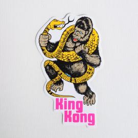 king kong cult sticker nr.2 1970 GRATIS VERZENDEN