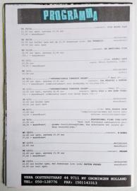vera club krant groningen programma nr.21 28 oktober 1993