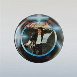 jackson, michael button pin 1980s GRATIS VERZENDEN