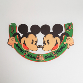 mickey mouse rat face feesthoed papier paper hat 1930s