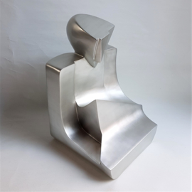 beeld figurine fiberglass jim ritchie style XXL cubism art 1980s