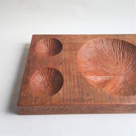 schalen-plank hout wooden dough-bowl hand-carved art & crafts