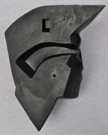 lindsey b. balkweill wandmasker wandhoofd vrouw 1986