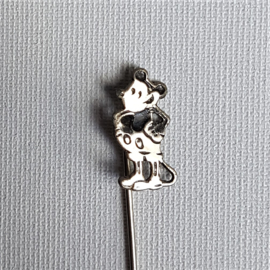 mickey mouse rat-face speldje pin 1930s