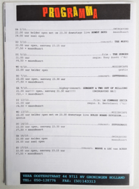 vera club krant groningen programma nr.19 30 september 1993