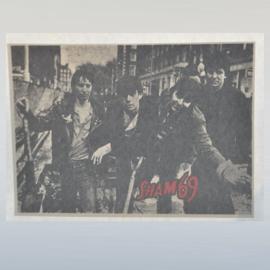 sham 69 punk strijkembleem iron on 1970s GRATIS VERZENDEN