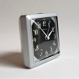alarm klok wekker clock wind-up blessing west germany space age 1970s