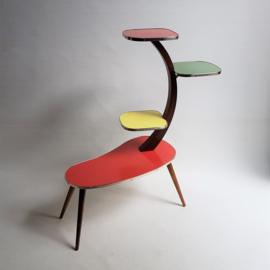 tafel plantentafel trapeze table 1950s