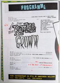 vera club krant groningen programma nr.25 30 december 1992 9 pound hammer