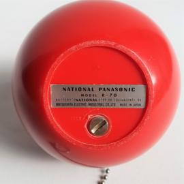 radio panapet R 70 panasonic space age 1970s