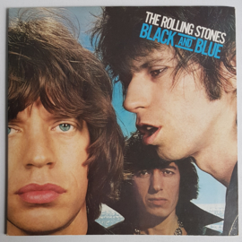 rolling stones, the black and blue LP 1976
