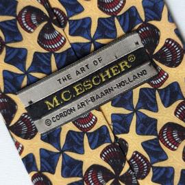 escher, m.c. stropdas tie cordon art baarn holland 1990s