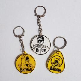 batman & robin honig sleutelhangers keychains 1966