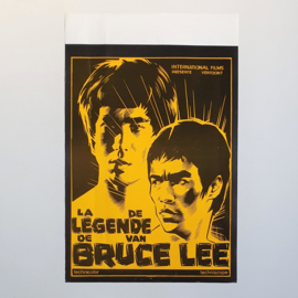 lee, bruce the legend of kung fu cult film movie poster 1976