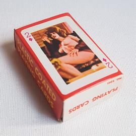pin-up kaartspel playing cards 1960s GRATIS VERZENDEN