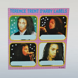 terence trent d'arby stickers school labels 1980s