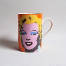 monroe, marilyn mok beker mug andy warhol 1995
