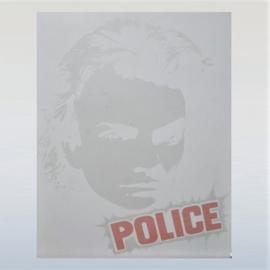 police / sting strijkembleem iron on 1970s