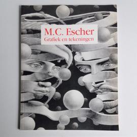 art m.c.escher grafiek en tekeningen boek book 1990