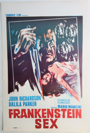 frankenstein sex cult film movie poster 1972