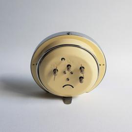 alarmclock wind-up wekker klok space age 1960s