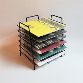 "platenrek vinyl singles 7""record stand 1960s"