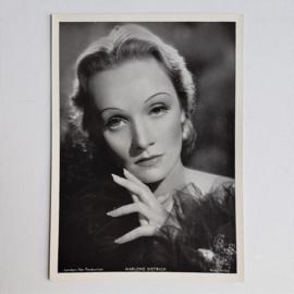 dietrich, marlene kaart bioscoop cinema photo card ross verlag 1940s