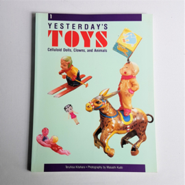 toys yesterday's toys celluloid dolls clowns animals teruhisa kitahara boek book 1989