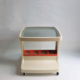 tafel bar trolley space age MARC HELD table 1970s