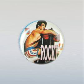 stallone, sylvester ROCKY button pin 1980s GRATIS VERZENDEN