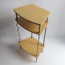 tafel bijzettafel kast side table cabinet memphis design style 1990s