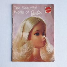 barbie folder boekje the beautiful world of barbie booklet 1972