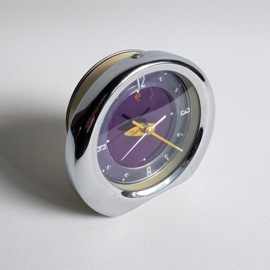 alarm klok wekker clock wind-up space age 1960s