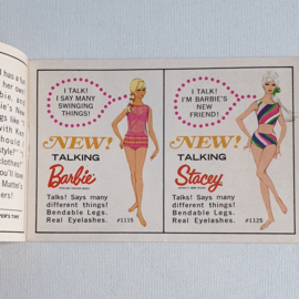 barbie folder boekje booklet the world of barbie fashions book 2 1967