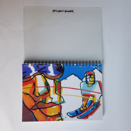 brood, herman schetsblok ongebruikt sketchbook 1990s