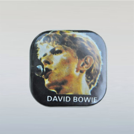 bowie, david button pin 1980s