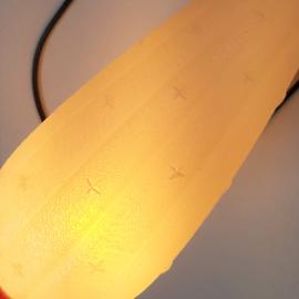 wandlamp wall lamp plastic 1960s
