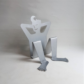 lektuurhouder magazine rack boy shaped