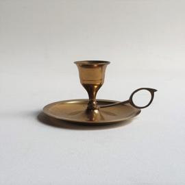 kandelaar messing hollywood regency candle holder brass 1960s / 1970s