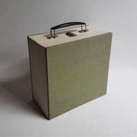 """singles koffer waaier record tote 7"""" 1960s"""