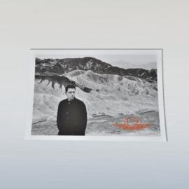 U2 adam ansichtkaart ongelopen anton corbijn 1980s