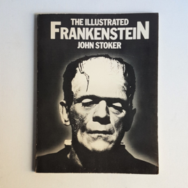 frankenstein, the illustrated john stoker boek book 1980