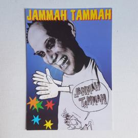 jammah tammah ansichtkaart tourkaart `easy skankin` 1990s