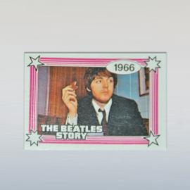 beatles, the kauwgum plaatje paul mc cartney monty gum card 1970s