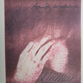 "warhol, andy print poster ""what's a warhol"" playboy 1969 USA 1990"